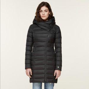 Soia & Kyo Jackets & Coats - Soia & Kyo asymmetrical down puffer with hood